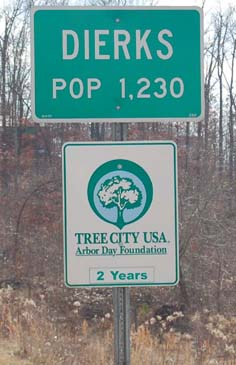 city limit sign